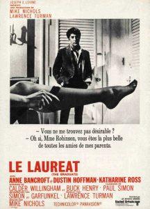 """Affiche du film états-unien """"Le Lauréat"""" de Mike Nichols (1967)"""