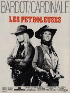 """Affiche du film français """"Les pétroleuses"""" de Christian-Jaque (1971)"""