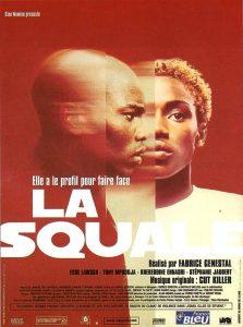 """Affiche du film français """"La squale"""" de Fabrice Genestal (2000)"""