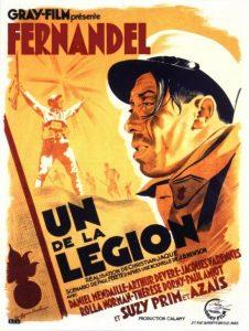 """Affiche du film français """"Un de la légion"""" de Christian-Jaque (1936)"""