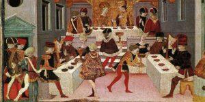 Un banquet au Moyen Âge