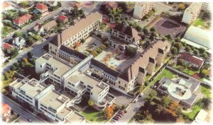 Le collège Jules-Ferry à Conflans Sainte-Honorine (78), où j'ai étudié de la 6e à la 3e, de septembre 1972 à juin 1976, devenu Lycée depuis
