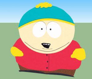 """Eric Cartman, un personnage du dessin animé états-unien """"South Park"""""""