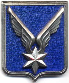 Insigne de l'ALAT (Aviation Légère de l'Armée de Terre), créée en 1954