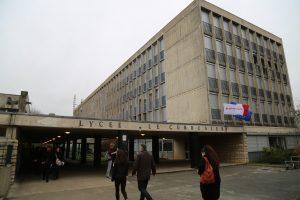 Le lycée Le Corbusier, à Poissy (78), où j'ai étudié de la seconde à la terminale, de septembre 1976 à juin 1979
