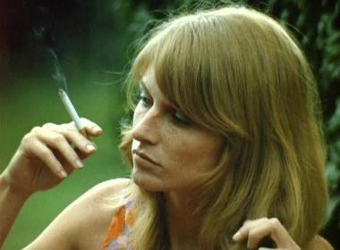L'actrice française Mijanou Bardot, soeur cadette de Brigitte Bardot