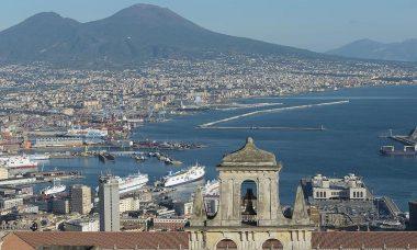 Le port de Naples (Campanie) (Italie)