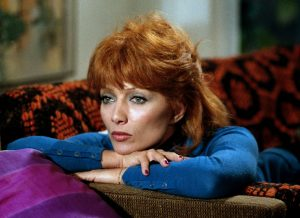 """L'actrice française Stéphane Audran, dans le film """"Juste avant la nuit"""" de Claude Chabrol (1971)"""