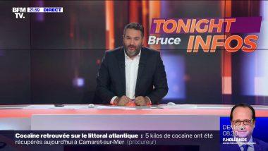 Bruce Toussaint, animateur de Tonight Bruce Infos sur BFMTV