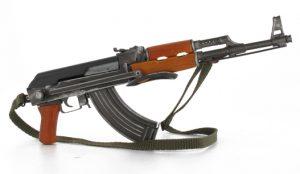 Fusil d'assaut russe Kalachnikov AK-47