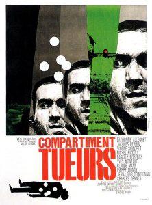 "Affiche du film français ""Compartiment tueurs"" de Costa-Gavras (1965)"