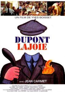 """Affiche du film français """"Dupont Lajoie"""" de Yves Boisset (1975)"""
