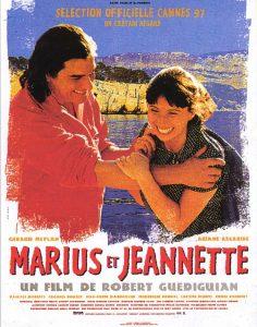 """Affiche du film français """"Marius et Jeannette"""" de Robert Guédiguian (1997)"""