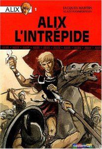 """""""Alix l'intrépide"""", roman d'Alain Hammerstein (2004), tiré de la bande dessinée homonyme, créée en 1948 par Jacques Martin"""