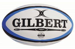 Ballon de rugby de la société britannique Gilbert