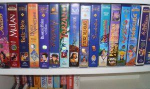 Cassettes VHS Disney