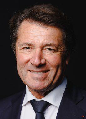 L'homme politique français Christian Estrosi