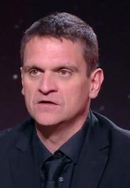 Le journaliste sportif français Grégory Schneider