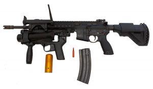 Le fusil d'assaut allemand HK-416