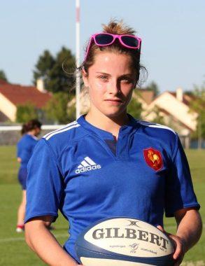 La joueuse internationale de rugby française Marion Lièvre