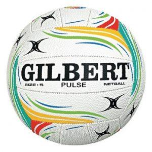 Ballon de netball de la société britannique Gilbert