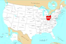 Localisation de l'Ohio