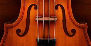 Les ouïes d'un violon