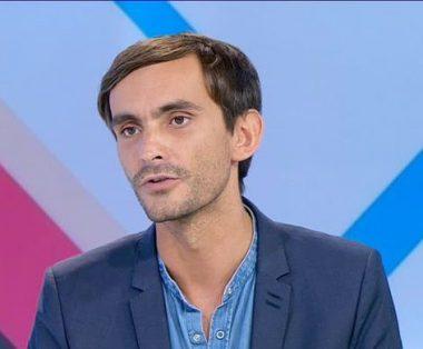 Le journaliste français Pierre Jacquemain