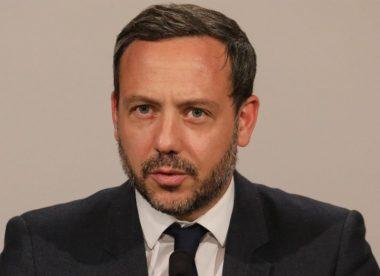 L'homme politique français Adrien Taquet