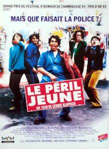 """Affiche du film français """"Le péril jeune"""" de Cédric Klapisch (1994)"""