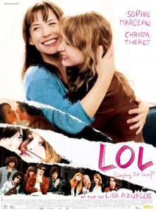 "Affiche du film français ""LOL (Laughing Out Loud)"" de Lisa Azuelos (2009)"