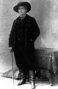 Le chansonnier et écrivain français Aristide Bruant