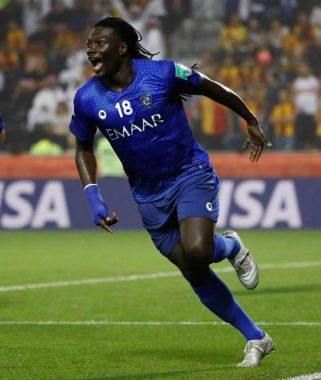 Le joueur international de football français Bafétimbi Gomis