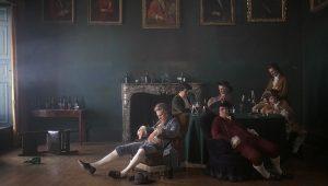 """Une extraordinaire composition picturale extraite de """"Barry Lyndon"""", le chef d'oeuvre de 1975 du réalisateur états-unien Stanley Kubrick"""