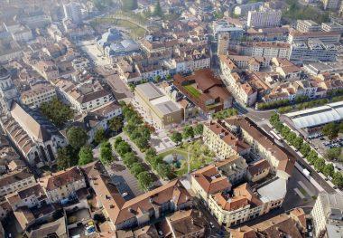 La ville de Bourg-en-Bresse (01)