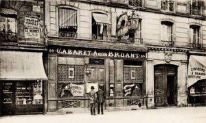 Le cabaret d'Aristide Bruant, à Paris (75)