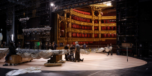 Les coulisses de l'opéra Garnier