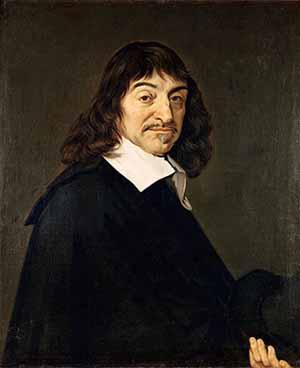 Le mathématicien, physicien et philosophe français René Descartes (1596-1650)