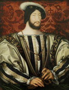 Le roi de France François 1er, comte d'Angoulême