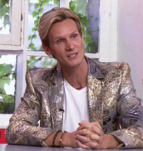 L'ancien chanteur français François-Xavier Renou