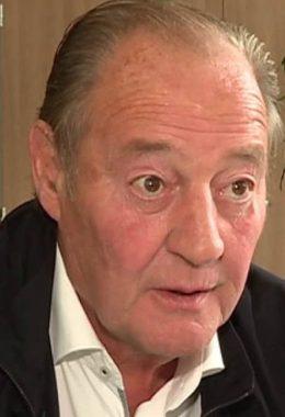 L'ancien président du club de football français du Racing Club de Lens (62) Gervais Martel