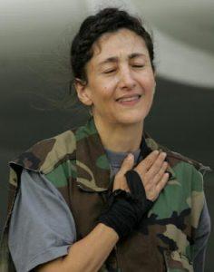 La femme politique colombo-française Ingrid Betancourt