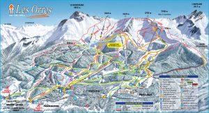 La station de ski alpin Les Orres (05)