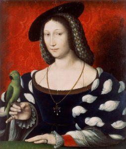 Marguerite de Navarre, soeur du roi de France François 1er