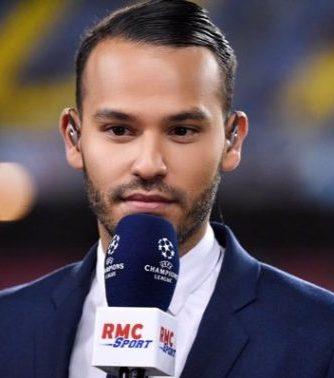 Le journaliste sportif français Mohamed Bouafsi