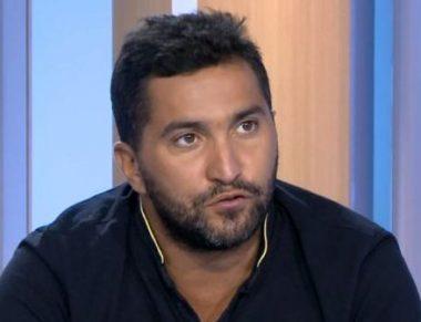 Le journaliste sportif français Nabil Djellit