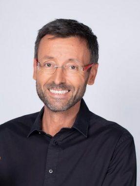 Le journaliste sportif français Olivier Ménard