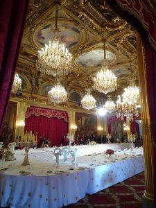Les ors de la république : le palais de l'Élysée
