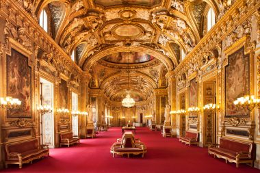 Les ors de la république : la salle des conférences du palais du Luxembourg (Sénat)