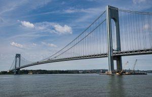 Le pont Verrazzano-Narrows, inauguré en 1964